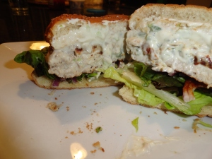 Cream Cheese and Jalapeno Stuffed Turkey Burger