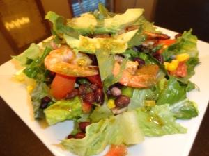 Chili Lime Shrimp Salad
