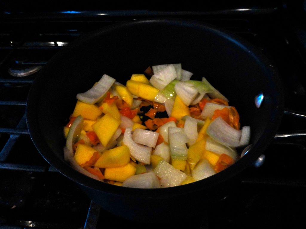 Mango-Habanero Hot Sauce