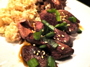 Japanese-Glazed Pan Roasted Duck Breasts