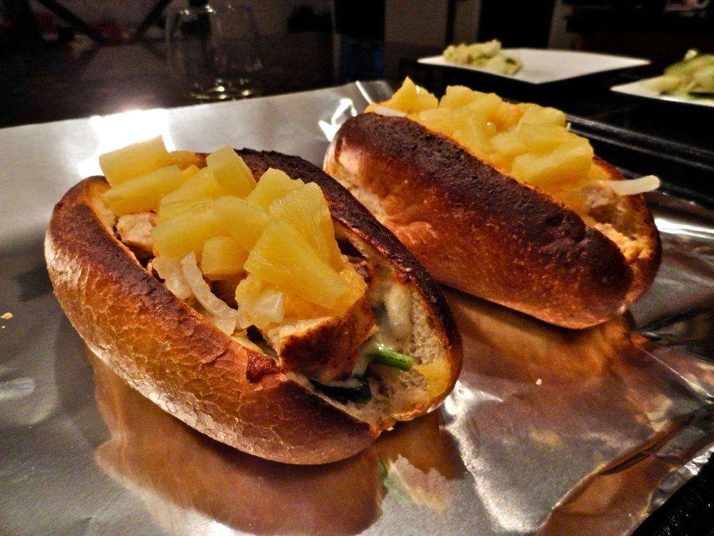 Mango-Habanero Chicken Sandwiches