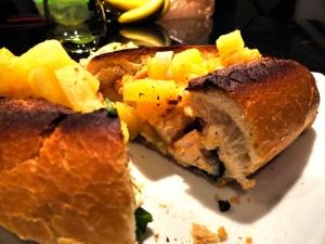 Mango-Habanero Chicken Sandwich