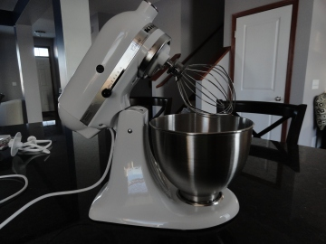 My new KitchenAid stand mixer!