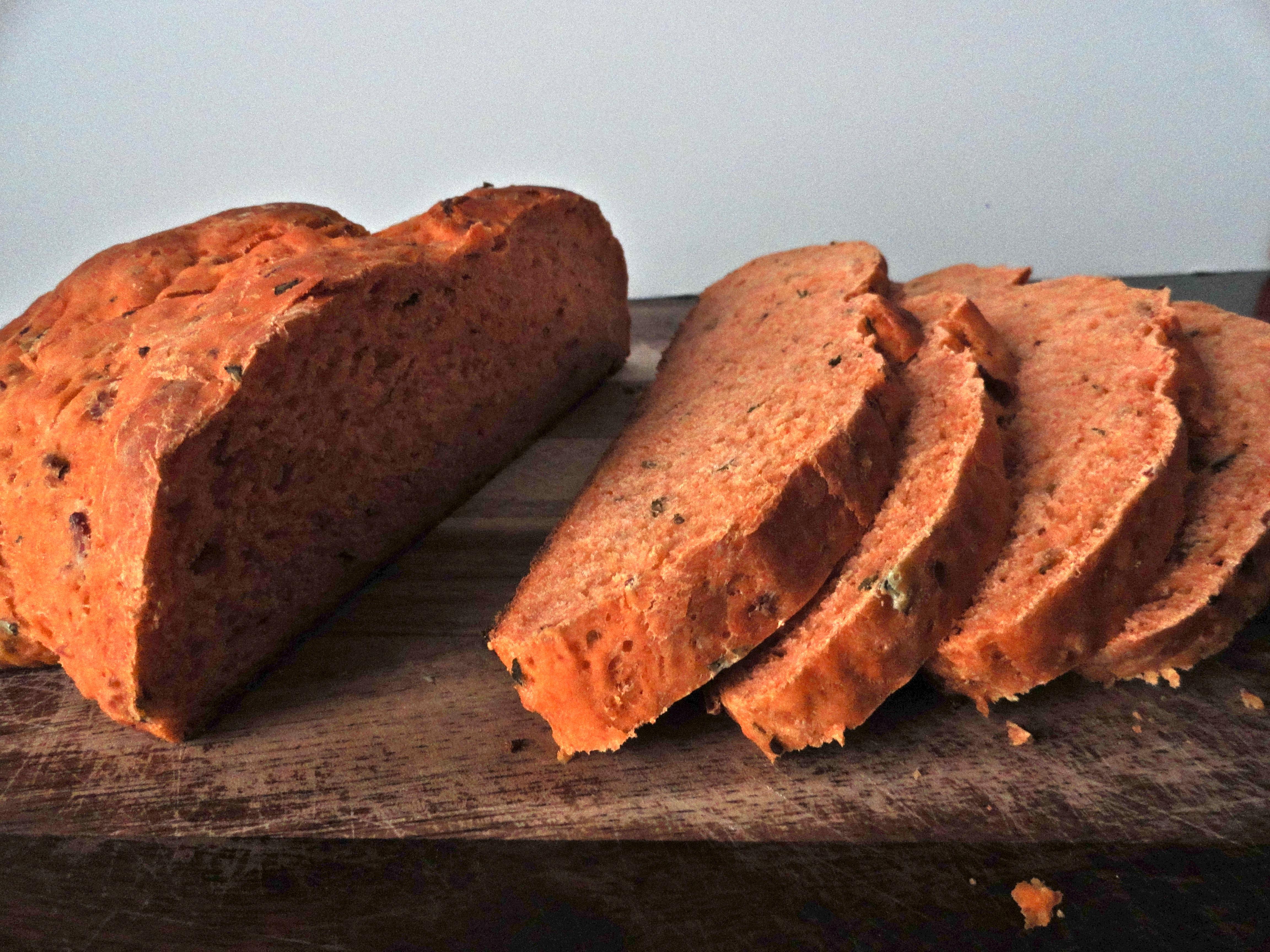 Tomato Basil Bread Panera Copycat Becoming Pigzilla