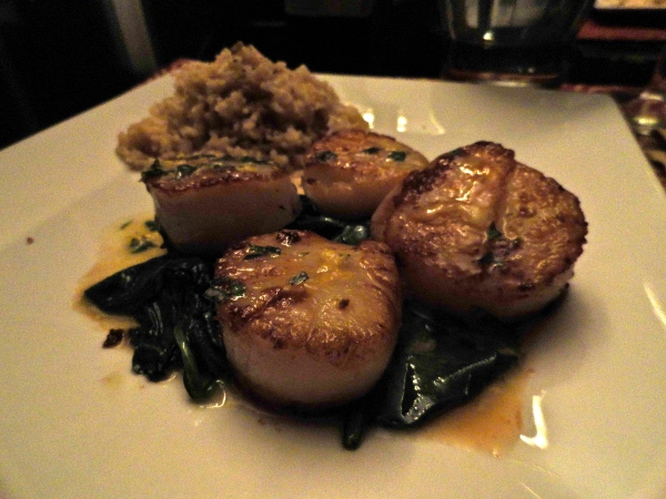 Scallops with Tarragon Butter Sauce