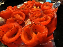 Tomatoes before roasting