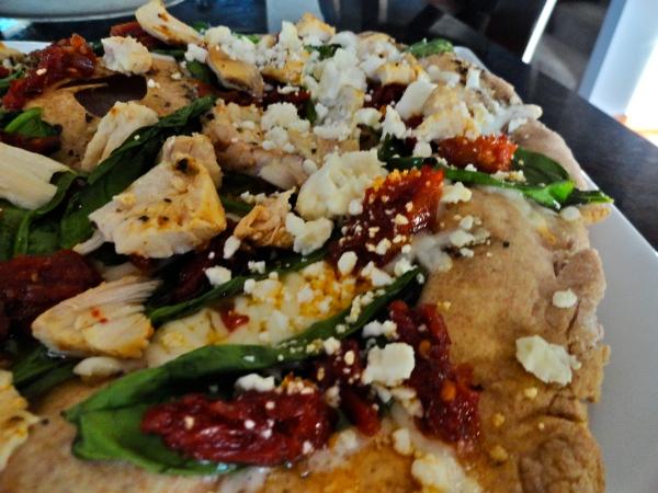 Herb Chicken Mediterranean Pizza - Papa Murphy's Copycat