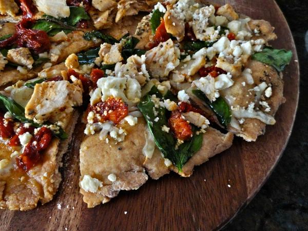 Herb Chicken Mediterranean PIzza