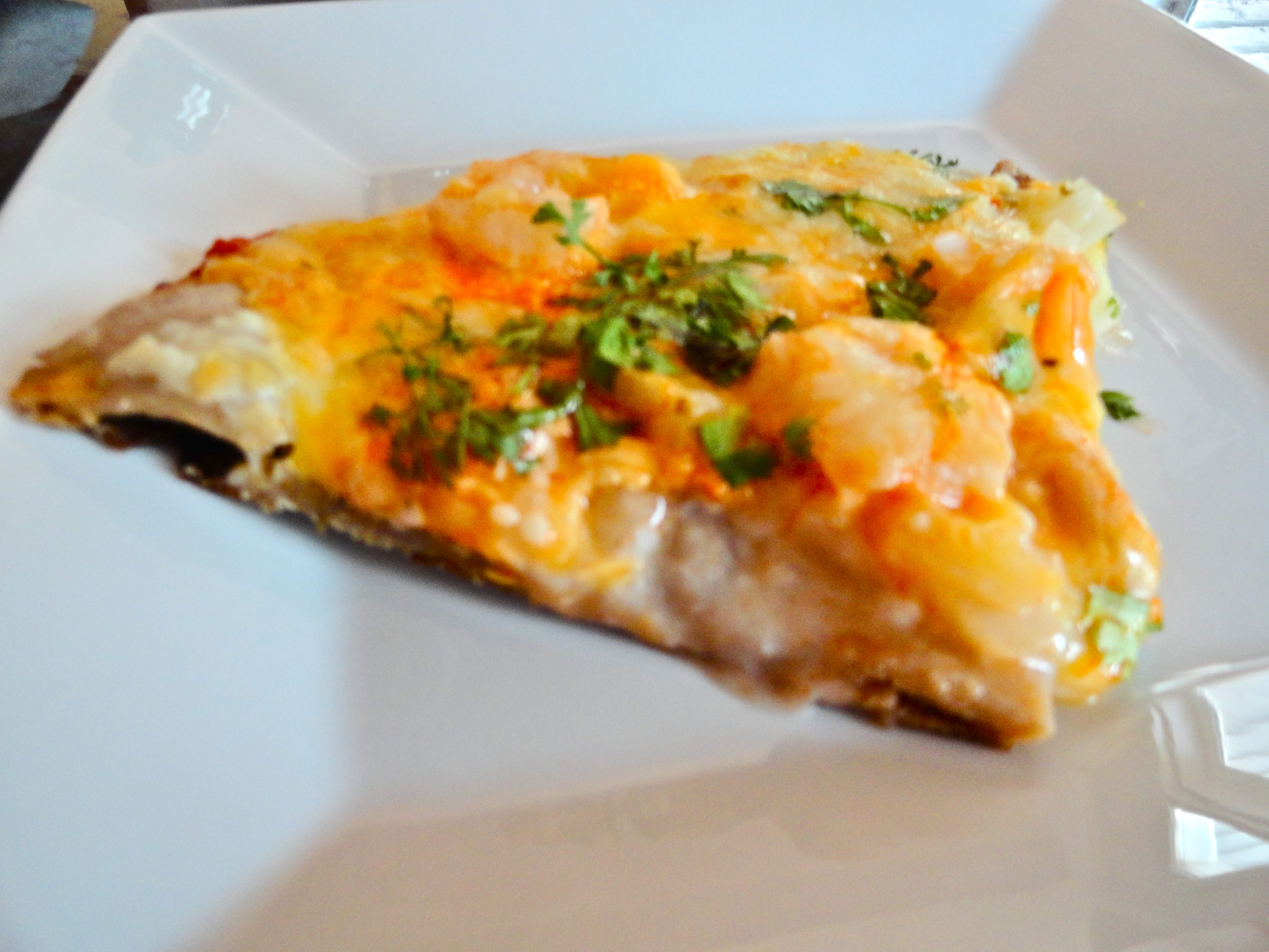 how to cook shrimp pizza