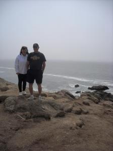 My parent's at Bodega Bay