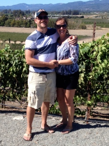 Nate and Kim at Viansa