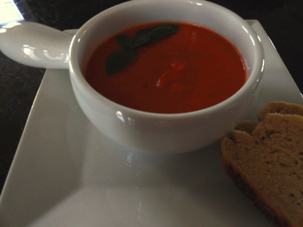 Summery Fresh Tomato Soup