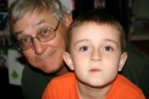 Grandpa and Carter