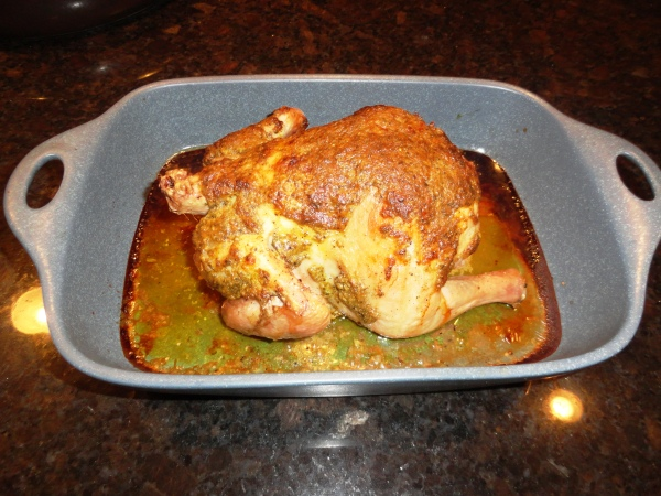 Rustic Roasted Chicken