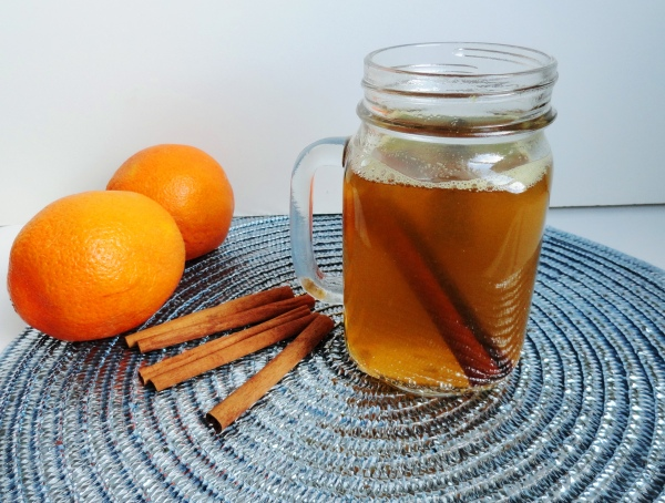Spiced Cider with Brandy