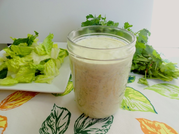 "Homemade Ranch (and Chipotle Ranch) Dressing and a Trick for ""making"" Buttermilk"