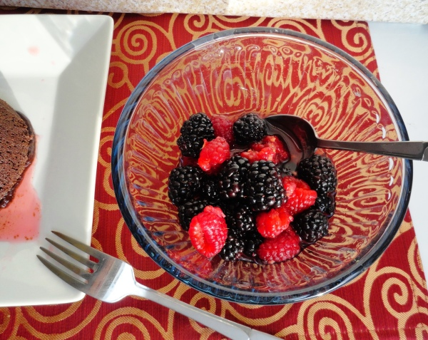 Brandy Macerated Berries