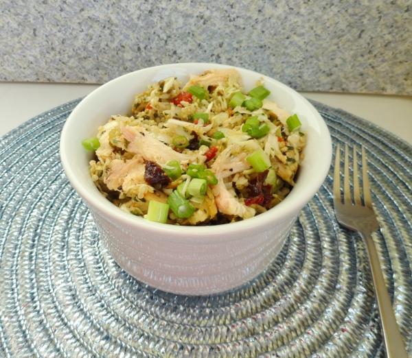 Pesto Chicken and Quinoa Salad