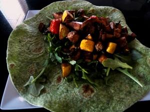 Balsamic Roasted Vegetable Wrap