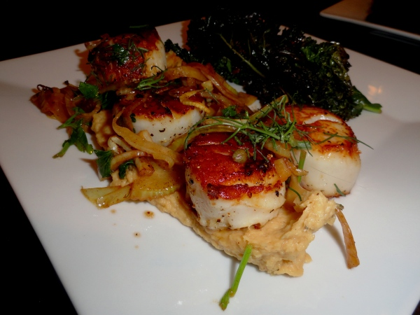 Skip the Restaurant, Cook and Home: Scallops with Fennel Grenobloise
