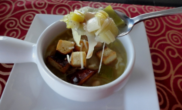Whit Bean-and-Leek Soup
