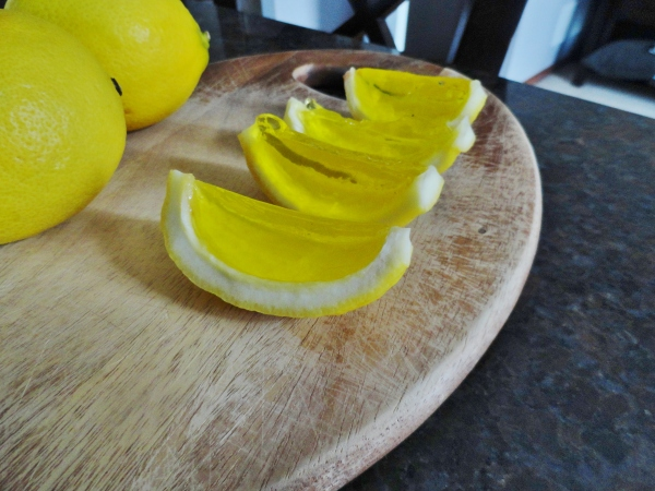 Lemon Meringue Jello Shots